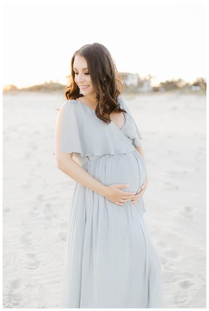 Maternity Pictures on St Simons