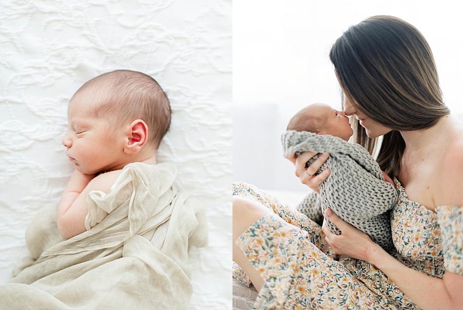Baby Boy Newborn Portraits