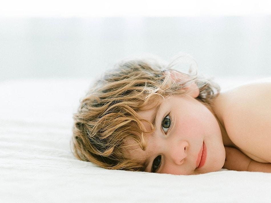 Toddler Portrait in Savannah Photography Studio
