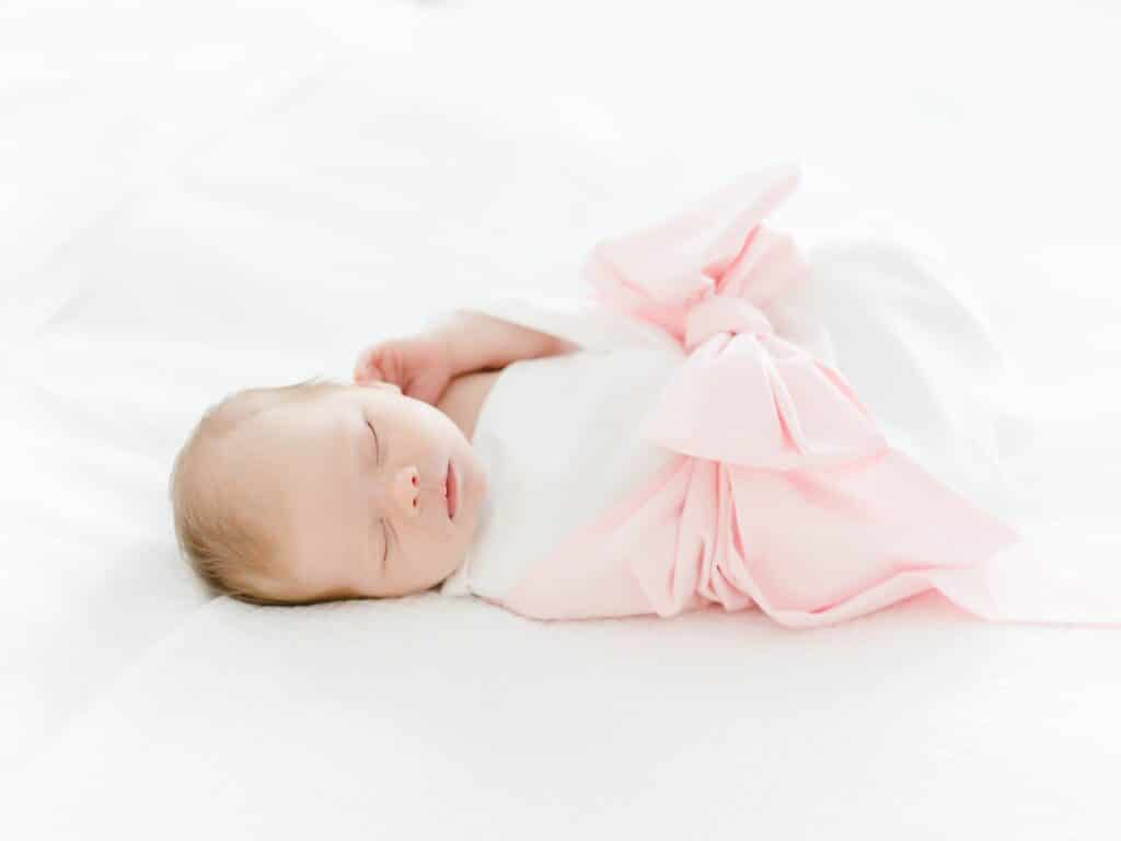 In home newborn session Isle of Hope Savannah GA