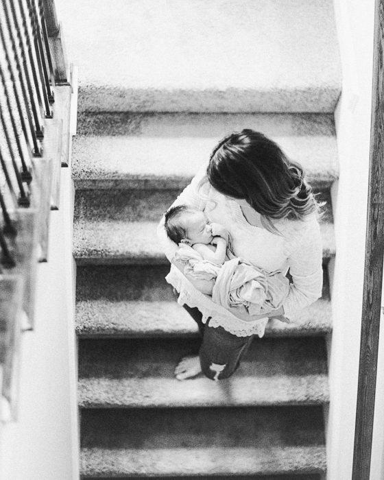 In home newborn session-22